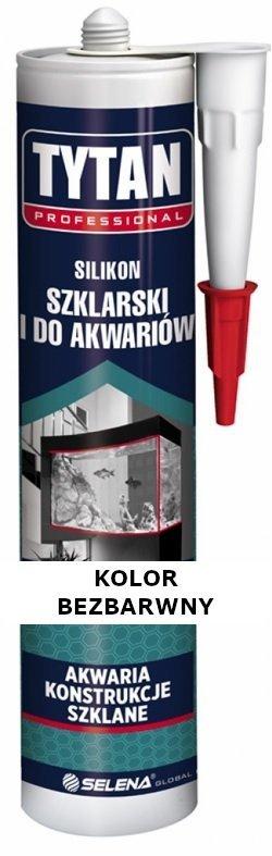 TYTAN Silikon szklarski bezbarwny 280 ml
