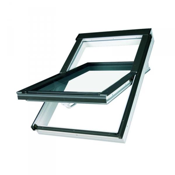 KOMPLET: Okno dachowe OPTILIGHT 78x118 TLP łazienkowe + KOŁNIERZ