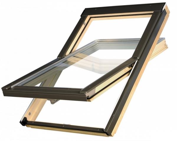 KOMPLET: Okno dachowe OPTILIGHT 78x98 B + KOŁNIERZ