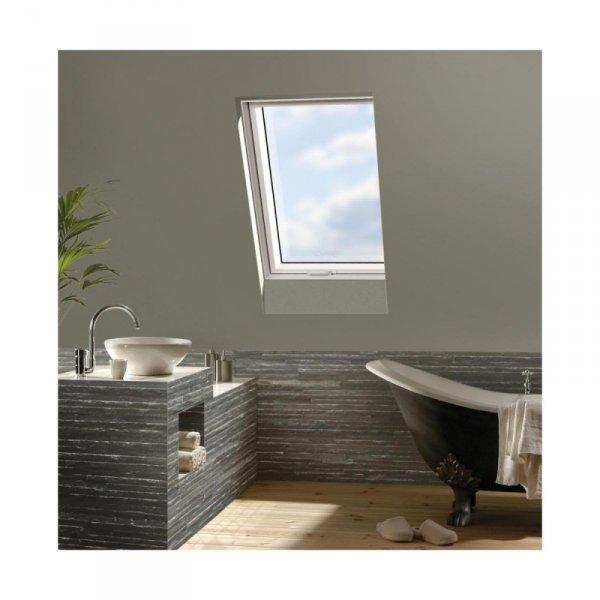 KOMPLET: Okno dachowe OPTILIGHT 78x98 TLP łazienkowe + KOŁNIERZ