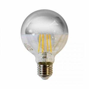 Żarówka Filamentowa LED 5,5W G80 E27 SILVER