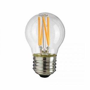 Żarówka Filamentowa LED 6W G45 E27 4000K