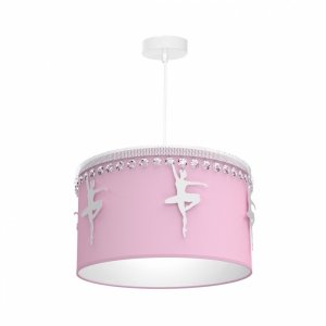 Lampa wisząca BALETNICA PINK 1XE27