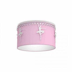 Lampa sufitowa BALETNICA PINK 1xE27