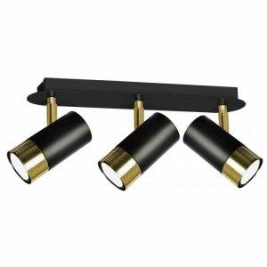 Lampa sufitowa DANI BLACK/GOLD 3xGU10