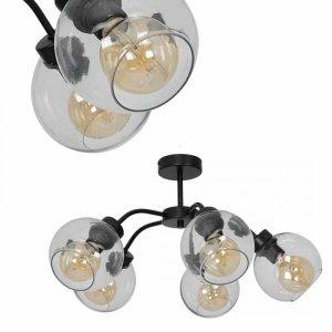 Lampa sufitowa SOFIA CLEAR 5xE27