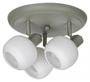 LAMPA SUFITOWA PLAFON SPOT REGULOWANY SZARY RABALUX 3968 SORAYA