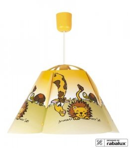 LAMPA WISZĄCA LEW LEON RABALUX 4568