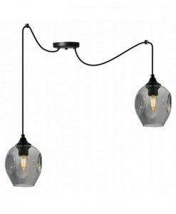 Lampa wisząca regulowana - SPIDER PRAGA 2235/2