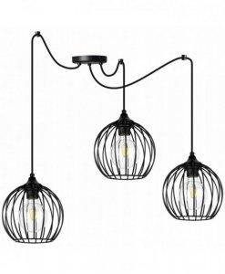Lampa wisząca regulowana - SPIDER TORONTO 2245/3