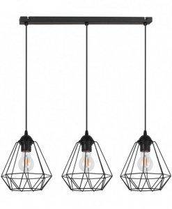 Lampa 3-płomienna LOFT Industrialna - CORRAL 2025/3/L