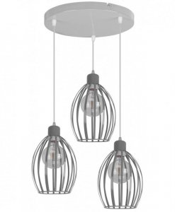 Lampa LOFT Industrialna - TOMI 2070/3OW
