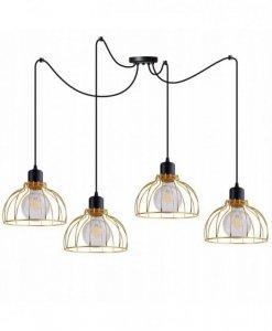 Lampa wisząca ze szklanymi kloszami - SPIDER MOBI 2180/4
