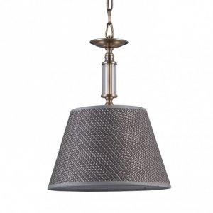 ITALUX ZANOBI PND-43272-1 LAMPA WISZĄCA KLASYCZNA PATYNA Z ABAŻUREM