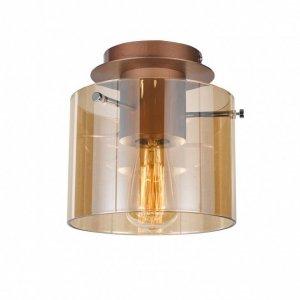 ITALUX JAVIER MX17076-1A LAMPA PLAFON NOWOCZESNY SZKLANY PATYNA
