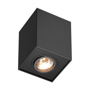ZUMA LINE LAMPA PLAFON TUBA H-89200-BK QUADRO SPOT CZARNY