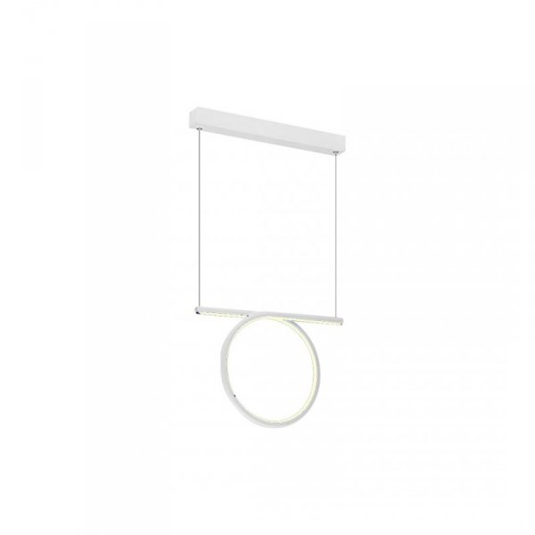 LAMPA WISZĄCA LOOP WHITE 20W LED
