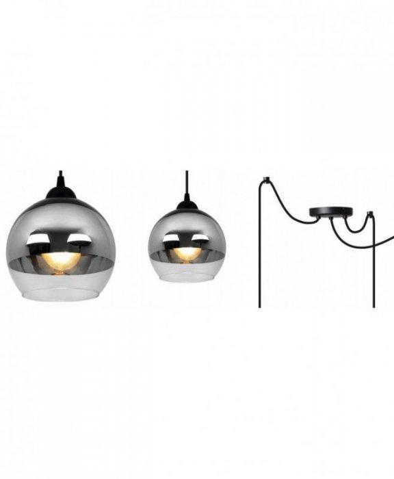 Lampa wisząca nowoczesna - SPIDER BERGEN 2330/3