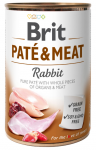 Brit Pate & Meat Rabbit 400g - Królik
