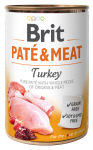 Brit Pate & Meat Turkey 400g - Indyk