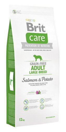 Brit Care Adult Large Salmon and Potato 12kg