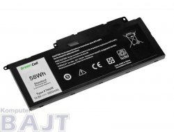 Bateria Green Cell do Dell Inspiron 15 7537 17 7737 7746 4 cell 14,8V