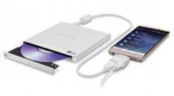 Napęd DVD RW LG GP95EW70 zewnętrzny white USB slim ANDROID