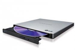 Napęd DVD RW LG GP57ES40 zewnętrzny silver slim USB Soft BOX