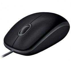 Mysz przewodowa Logitech B110 Silent optyczna czarna