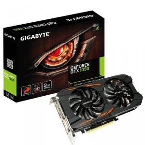 Karta VGA Gigabyte GTX1050 OC 2GB GDDR5 128bit DVI+3xHDMI+DP PCIe3.0