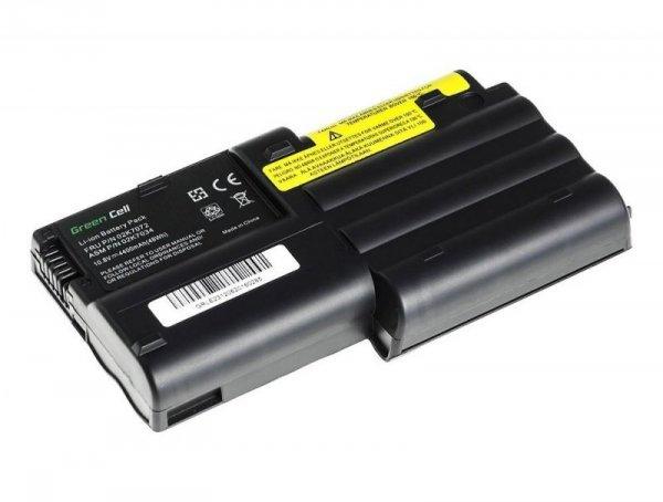 Bateria Green Cell do Lenovo IBM Thinkpad T30 6 cell 11,1V