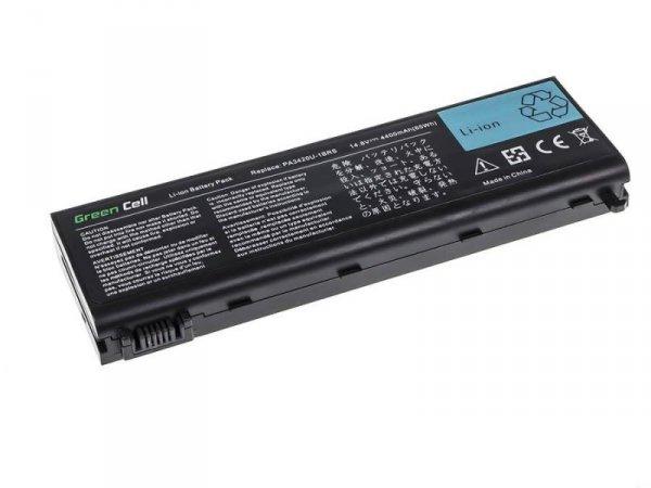 Bateria Green Cell do Toshiba Satellite L25 L30 L35 PA3420U-1BRS 8 cell 14,8V