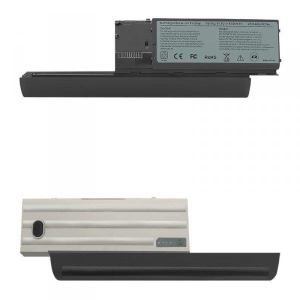 Bateria Qoltec do notebooka Dell Latitude D630, 6600mAh, 11,1V