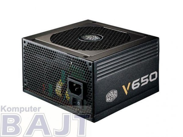 Zasilacz Cooler Master V650 650W modularny 80+ gold