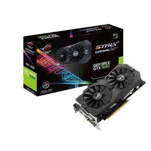 Karta VGA Asus GTX1050 OC 2GB GDDR5 128bit 2xDVI+HDMI+DP PCIe3.0