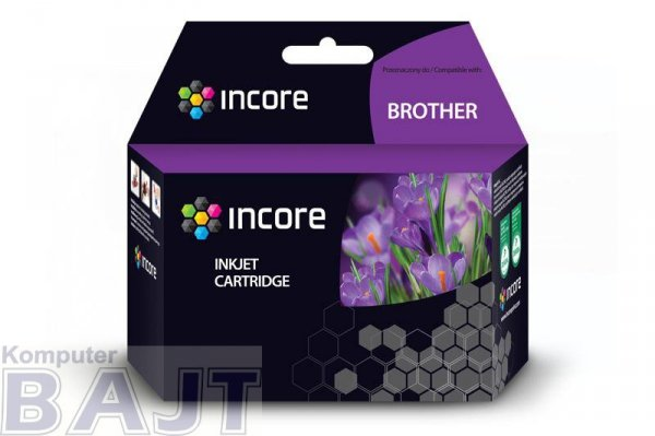 Tusz INCORE do Brother LC 970 Magenta 20 ml