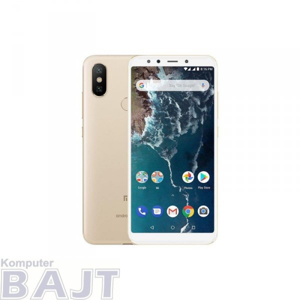 "Smartfon Xiaomi Mi A2 Gold 5,99"" 64 GB Dual Sim"