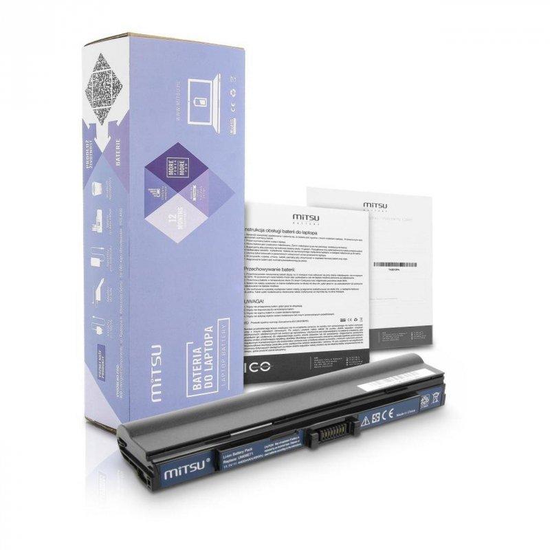 Bateria Mitsu do notebooka Acer Aspire one 521, 752 (10.8V-11.1V) (4400 mAh)