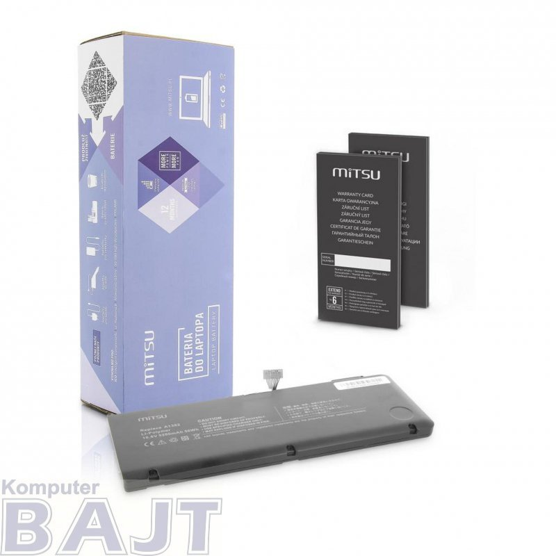 Bateria Mitsu do notebooka Apple A1382