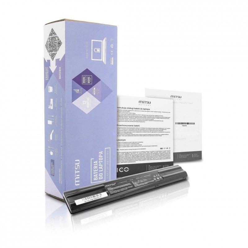 Bateria Mitsu do notebooka Asus A3, A6, A7 (14.4V-14.8V) (4400 mAh)