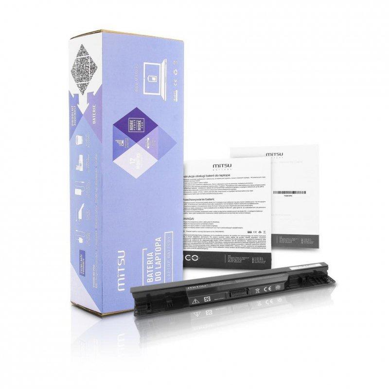 Bateria Mitsu do notebooka Dell Inspiron 1464, 1564 (10.8V-11.1V) (4400 mAh)