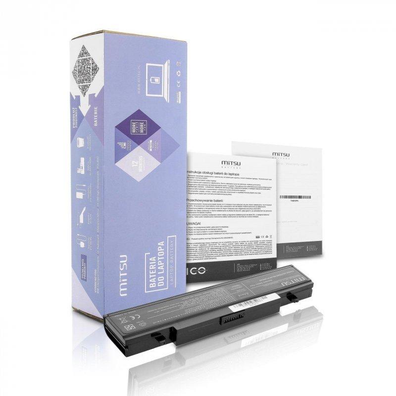 Bateria Mitsu do notebooka Samsung R460, R519 (10.8V-11.1V) (4400 mAh)