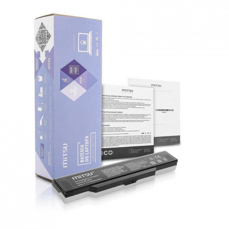 Bateria Mitsu do notebooka Fujitsu D1420, M1420 (10.8V-11.1V) (4400 mAh)