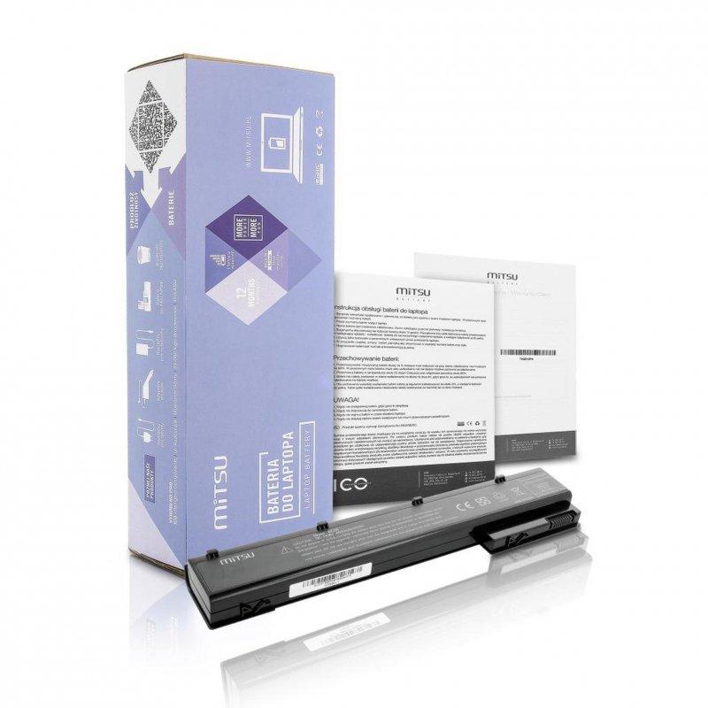 Bateria Mitsu do notebooka HP EliteBook 8560w, 8760w