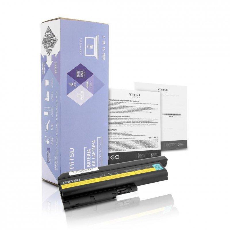 Bateria Mitsu do notebooka IBM R60, T60, T61 (10.8V-11.1V) (6600 mAh)
