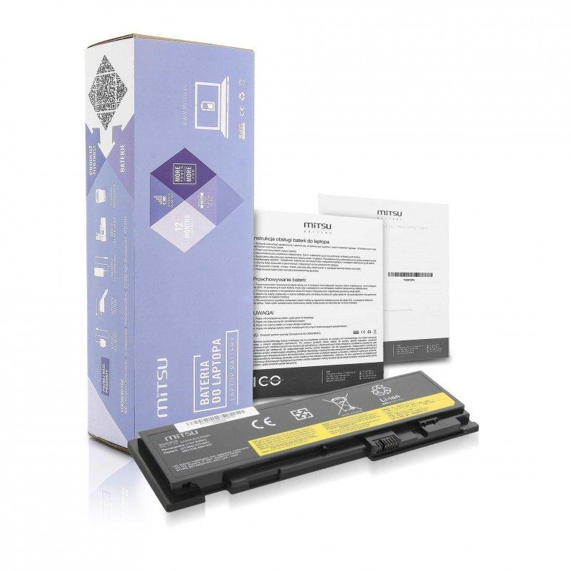 Bateria Mitsu do notebooka Lenovo Thinkpad T420s (10.8V-11.1V) (4400 mAh)