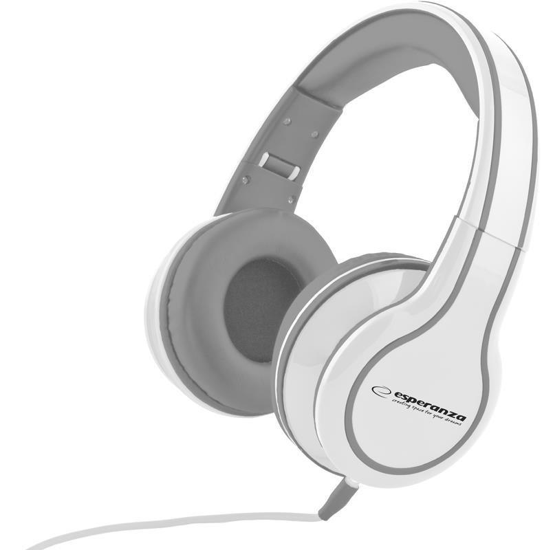 Słuchawki Esperanza EH136W Blues białe