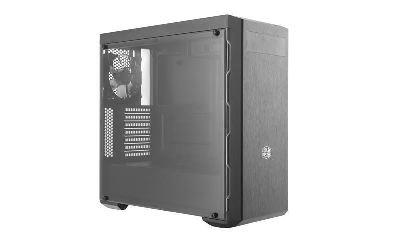 Obudowa Cooler Master MasterBox MB600L Midi Tower z oknem, czarno-srebrna
