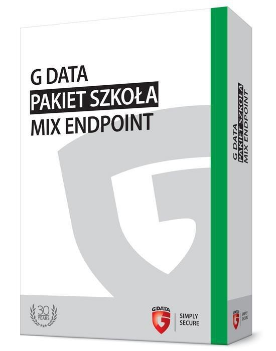 G DATA Pakiet Szkoła MIX Endpoint BOX do 50PC 2 LATA