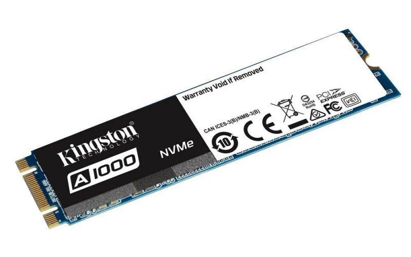 Dysk SSD Kingston A1000 960GB M.2 2280 PCIe NVMe (1500/1000 MB/s) 3D NAND, TLC